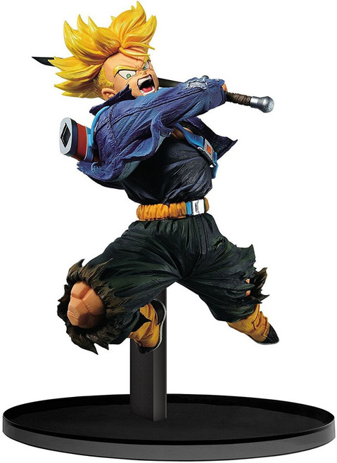 Dragon Ball Z World Figure Colosseum Super Saiyan Future Trunks 6.1-Inch Collectible PVC Figure