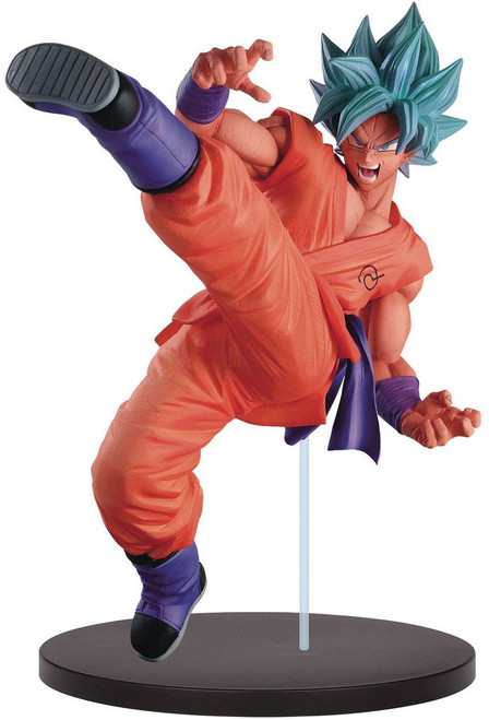 Dragon Ball Super FES!! Super Saiyan Blue Son Goku 7.5-Inch Collectible PVC Figure [Super Saiyan Blue]