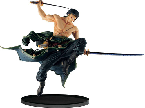 One Piece World Figure Colosseum Roronoa Zoro 8.1-Inch Collectible PVC Figure