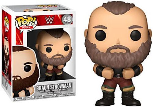 Funko WWE Wrestling POP! Sports Braun Strowman Vinyl Figure #48