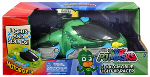 Disney Junior PJ Masks Gekko-Mobile Light Up Racer Vehicle