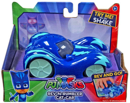 Disney Junior PJ Masks Rev-N-Rumbler Cat-Car Vehicle