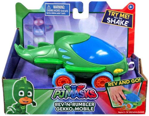 Disney Junior PJ Masks Rev-N-Rumbler Gekko-Mobile Vehicle