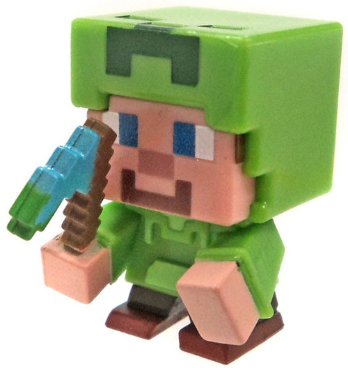 Minecraft Spooky (Halloween) Series 9 Steve in Creeper Hoodie Minifigure [Loose]