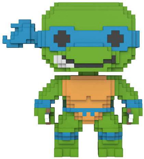 Funko Teenage Mutant Ninja Turtles POP! 8-Bit Leonardo Vinyl Figure
