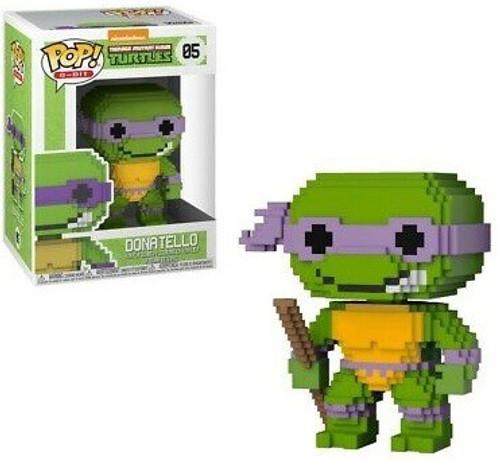 Funko Teenage Mutant Ninja Turtles POP! 8-Bit Donatello Vinyl Figure #05