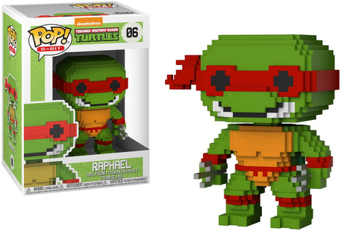 Funko Teenage Mutant Ninja Turtles POP! 8-Bit Raphael Vinyl Figure #06