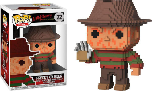 Funko Nightmare on Elm Street POP! 8-Bit Freddy Krueger Vinyl Figure #22