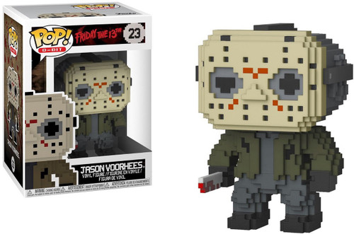 Funko Friday the 13th POP! 8-Bit Jason Voorhees Vinyl Figure #23