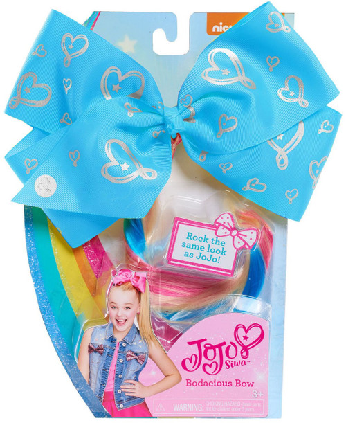 Nickelodeon JoJo Siwa Bodacious Hair Bow Dress Up Toy [Blue]