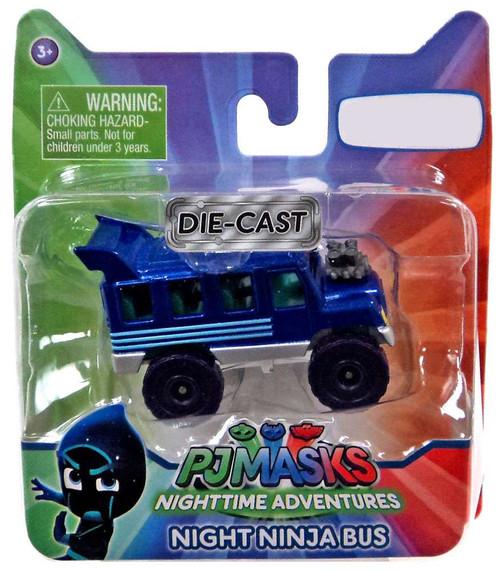 Disney Junior PJ Masks Night Ninja Bus Exclusive Diecast Vehicle