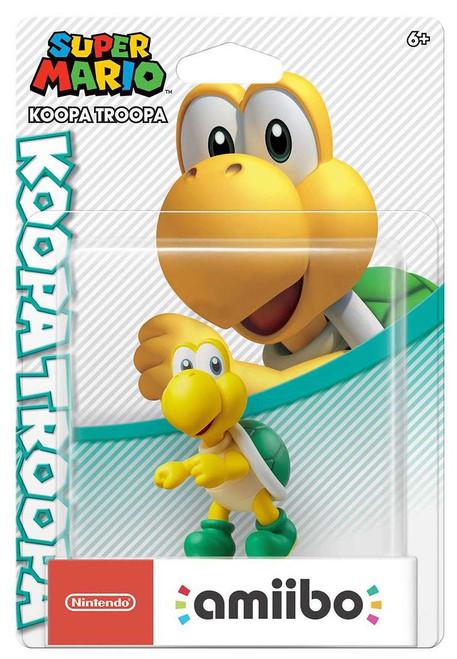 Nintendo Super Mario Amiibo Koopa Troopa Mini Figure