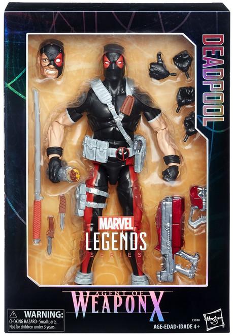 Marvel Legends Deadpool Exclusive Deluxe Collector Action Figure [Agent of Weapon X]