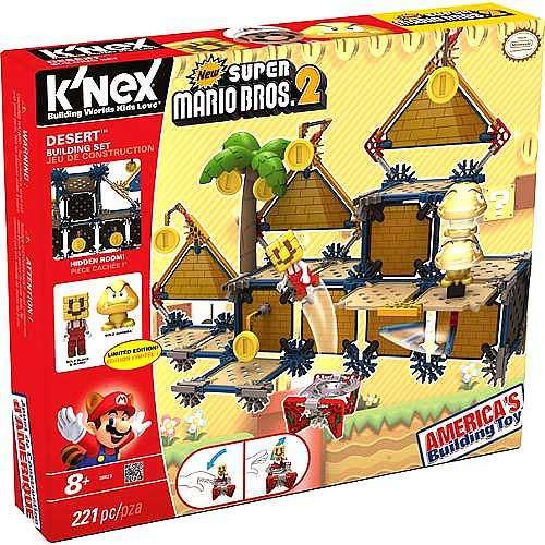 K'NEX New Super Mario Bros 2 Desert Building Set Set #38623 [Damaged Package]