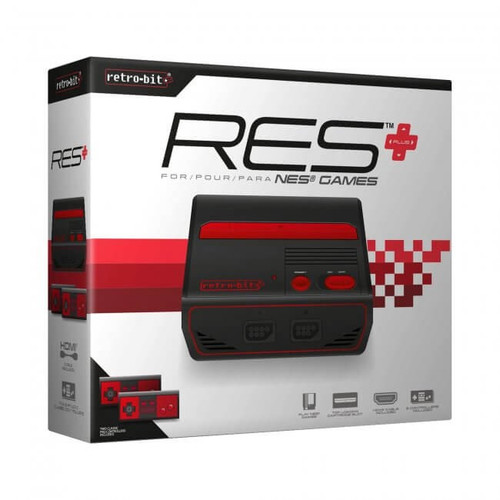 RES Plus NES 8-Bit w/ HDMI Port Video Game Console