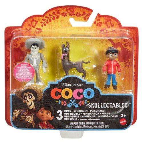 Disney / Pixar Coco Skullectables Ernesto De La Cruz, Miguel & Dante Mini Figure 3-Pack Set