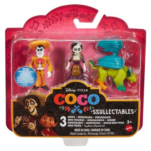 Disney / Pixar Coco Skullectables Ernesto De La Cruz, Mama Imelda & Pepita Mini Figure 3-Pack Set