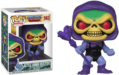 Funko Masters of the Universe POP! TV Battle Armor Skeletor Vinyl Figure #563