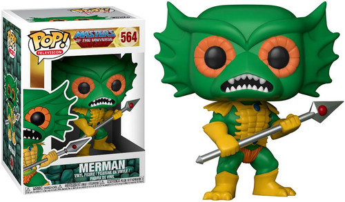 Funko Masters of the Universe POP! TV Merman Vinyl Figure #564 [Green Face, Regular Version]