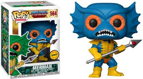 Funko Masters of the Universe POP! TV Merman Vinyl Figure #564 [Blue Face, Chase Version]