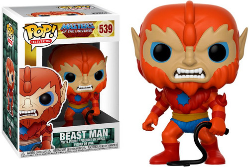 Funko Masters of the Universe POP! TV Beast Man Vinyl Figure #539