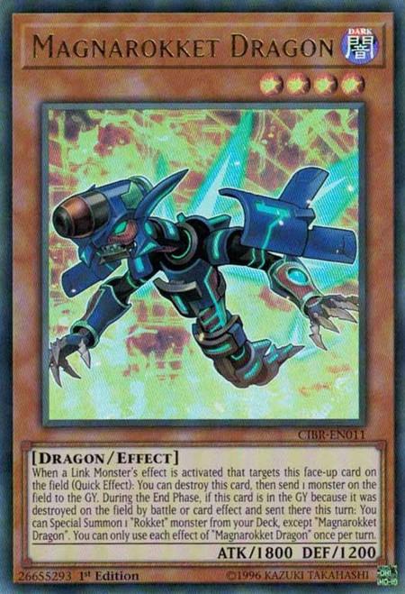 YuGiOh Circuit Break Ultra Rare Magnarokket Dragon CIBR-EN011