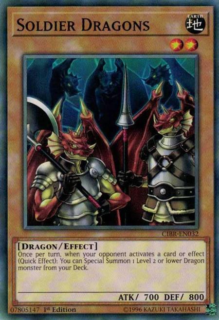 YuGiOh Circuit Break Common Soldier Dragons CIBR-EN032
