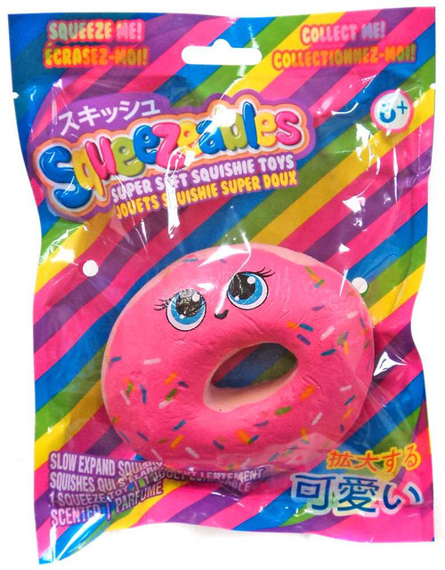 Squeezeables Series 1 Donut Squeeze Toy