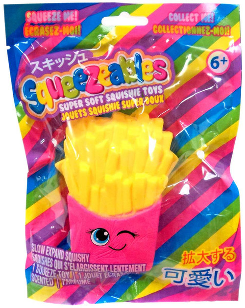 Squeezeables Series 1 French Fries Squeeze Toy