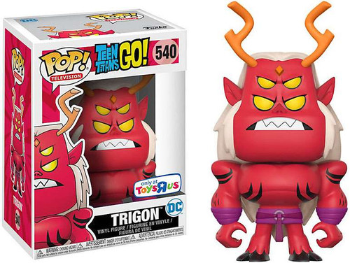 Funko Teen Titans Go! POP! TV Trigon Exclusive Vinyl Figure #540 [Damaged Package]