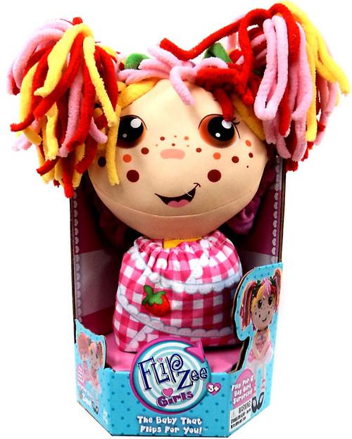 FlipZee! Girls Zana Strawberry Plush Doll [Small]