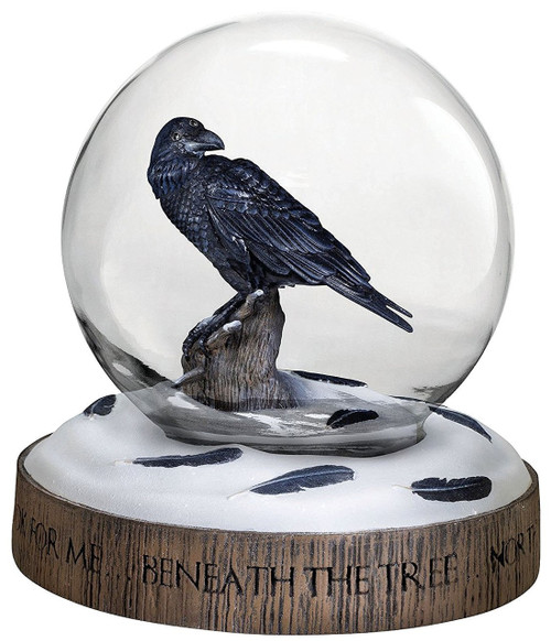 Game of Thrones The Three-Eyed Raven 4.7-Inch Snow Globe [Limited Edition of 750]