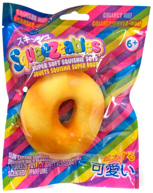 Squeezeables Bagel Squeeze Toy