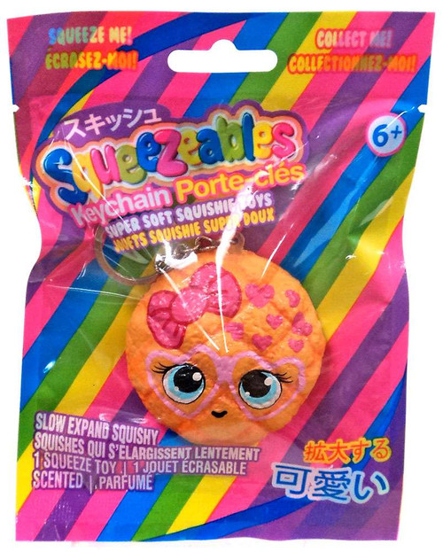 Squeezeables Series 1 Cookie Squeeze Toy Keychain