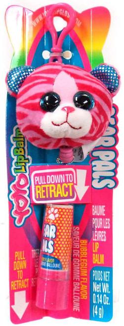 YOYO Lip Balm Bear Pals Pink Zebra Bear Lip Balm [Bubblegum]