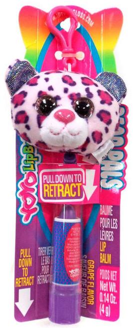 YOYO Lip Balm Bear Pals Purple Leopard Print Bear Lip Balm [Grape]