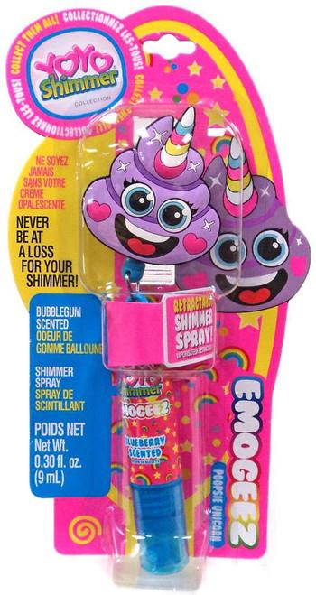 YOYO Shimmer Emogeez Poopsie Unicorn Shimmer Spray [Blueberry]