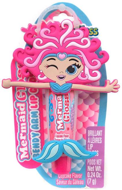YOYO Lip Gloss Mermaid Gloss Cupcake Bendy Arm Lip Gloss