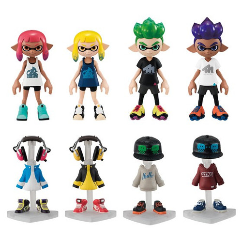 Shakugan Splatoon 2 Gear Collection 1 3.75'' Mystery Box [10 Packs]