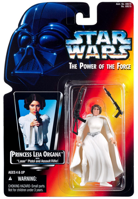 Star Wars A New Hope Power of the Force POTF2 Princess Leia Organa Action Figure