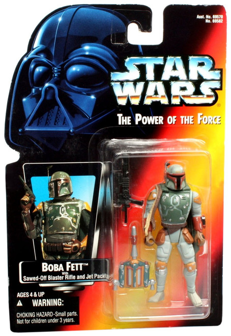 Star Wars Return of the Jedi Power of the Force POTF2 Boba Fett Action Figure