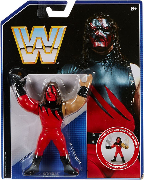 WWE Wrestling Retro Kane Action Figure