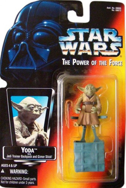 Star Wars The Empire Strikes Back Power of the Force POTF2 Yoda Action Figure