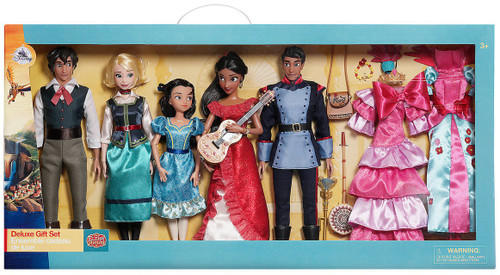 Disney Elena of Avalor Exclusive 12-Inch Classic Doll 5-Pack Deluxe Gift Set