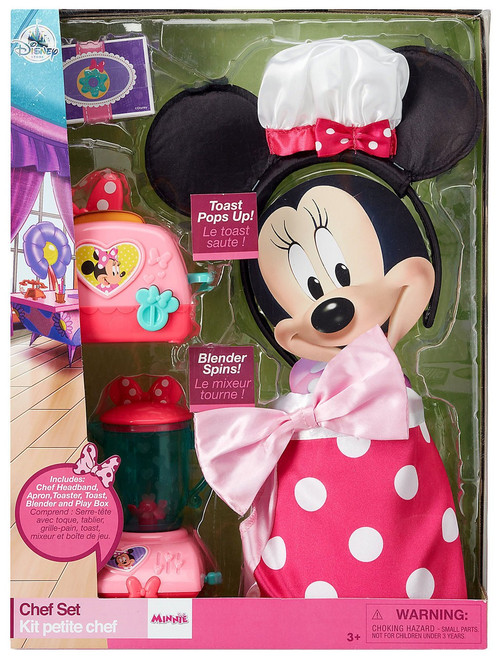 Disney Minnie Mouse Chef Set Exclusive Playset