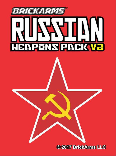 BrickArms Russian V.2 Weapons Pack