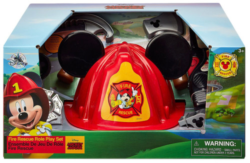 Disney Mickey Mouse Fire Rescue Exclusive Roleplay Set