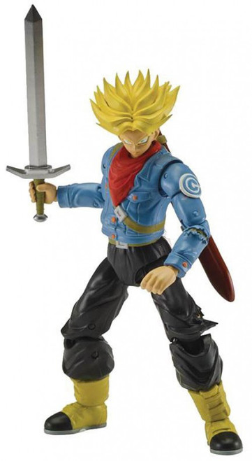 Dragon Ball Super Dragon Stars Series 3 Super Saiyan Future Trunks Action Figure [Fusion Zamasu Build-a-Figure]