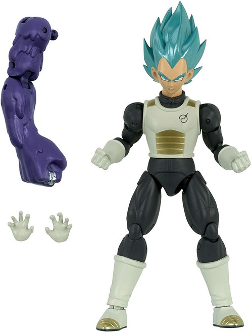 Dragon Ball Super Dragon Stars Series 4 Super Saiyan Blue Vegeta Action Figure [Fusion Zamasu Build-a-Figure]