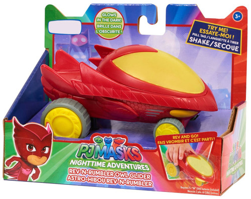 Disney Junior PJ Masks Rev-N-Rumbler Owl-Glider Exclusive Vehicle [Glow-in-the-Dark]